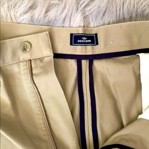 DOCKERS tan-taupe coloured chinos 36-30
